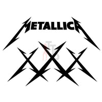 Metallica Music Rock Band Decal Sticker Style 3
