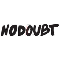 No Doubt Music Rock Band Decal Sticker