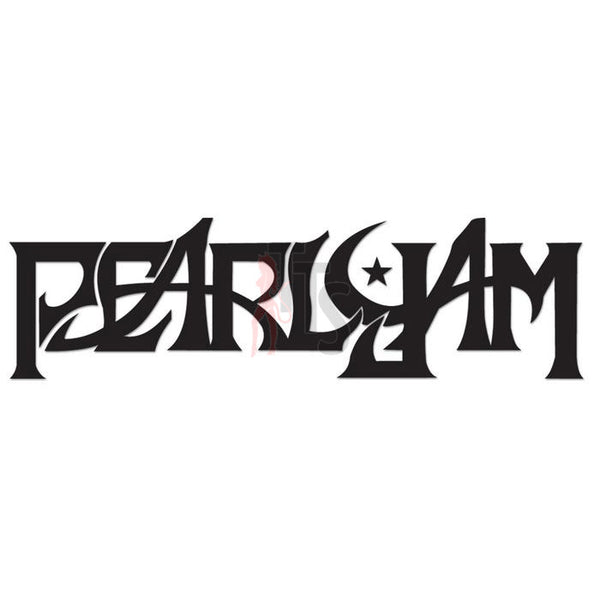 Pearl Jam Music Rock Band Decal Sticker Style 3