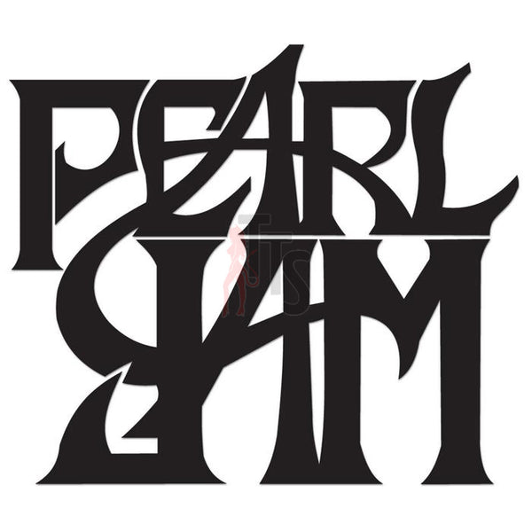 Pearl Jam Music Rock Band Decal Sticker Style 4