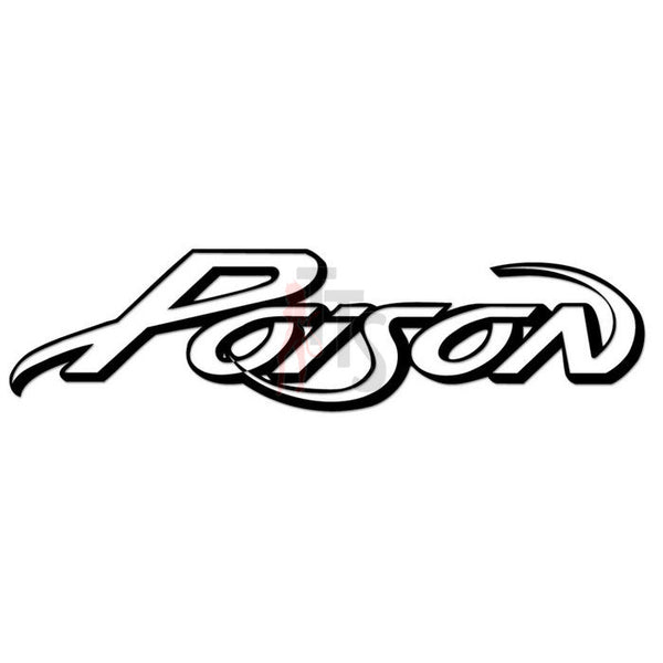 Poison Music Rock Band Decal Sticker