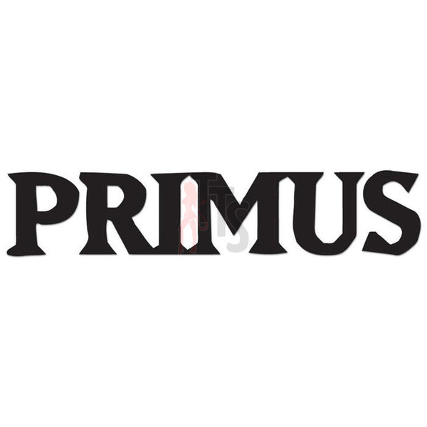 Primus Music Rock Band Decal Sticker