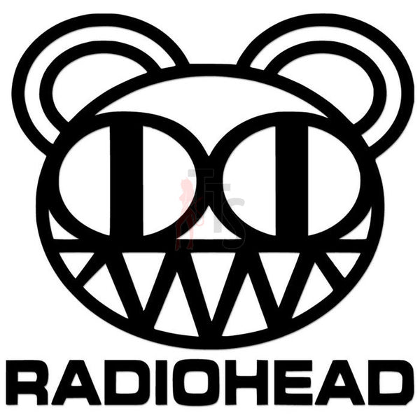 Radiohead Music Rock Band Decal Sticker