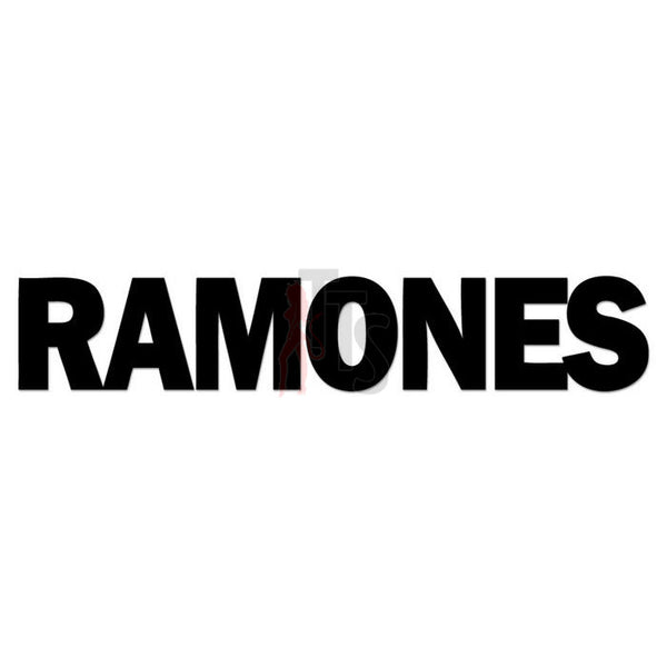 Ramones Music Rock Band Decal Sticker
