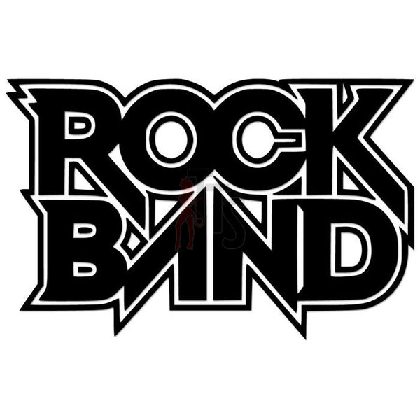 Rock Band Video Game Vinyl Decal Sticker Style 2