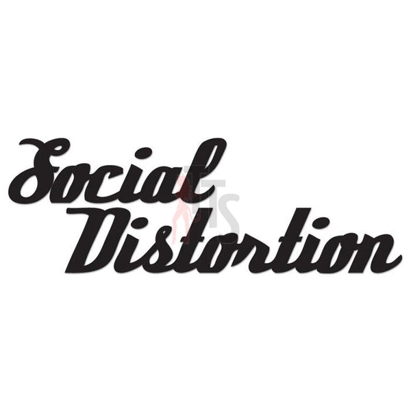 Social Distortion Music Rock Band Decal Sticker