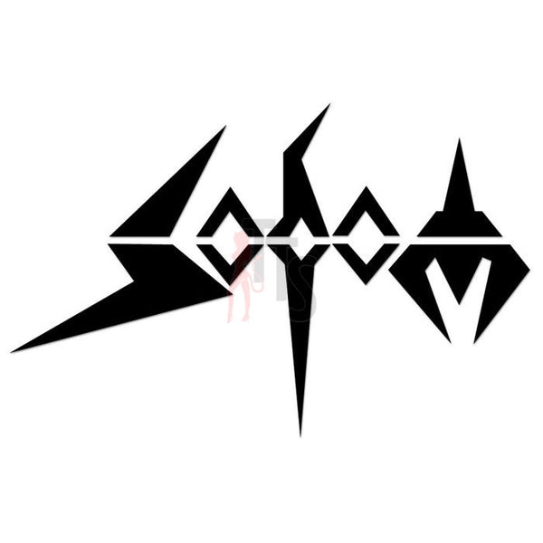 Sodom Music Rock Band Decal Sticker