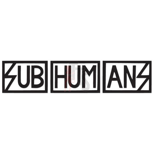 Subhumans Music Rock Band Decal Sticker