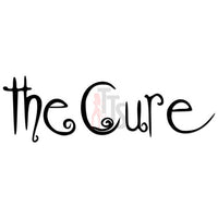 The Cure Music Rock Band Decal Sticker Style 3