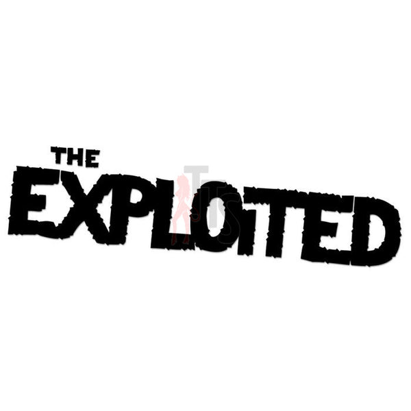 The Exploited Music Rock Band Decal Sticker Style 1
