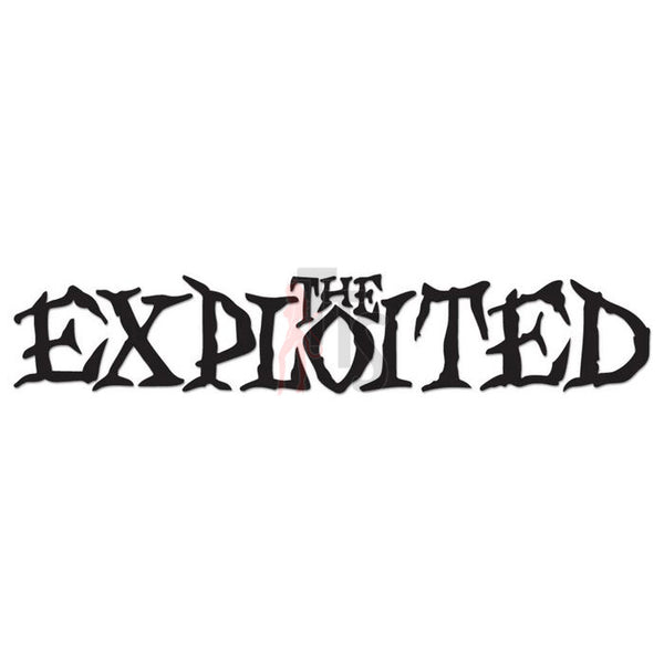The Exploited Music Rock Band Decal Sticker Style 2