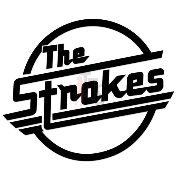 The Strokes Music Rock Band Decal Sticker