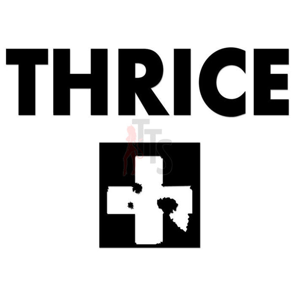 Thrice Music Rock Band Decal Sticker