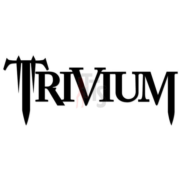 Trivium Music Rock Band Decal Sticker