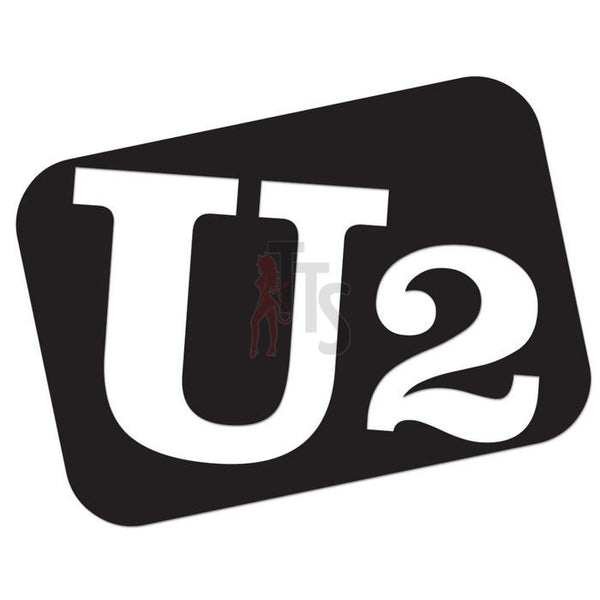 U2 Music Rock Band Decal Sticker Style 2