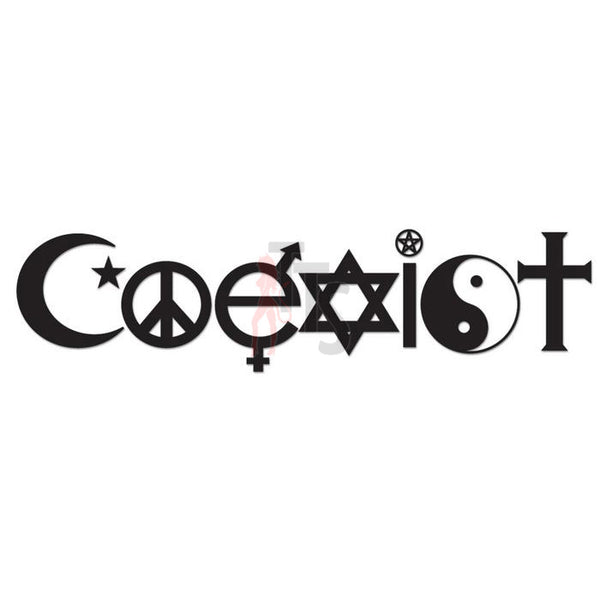 U2 Coexist Music Rock Band Decal Sticker Style 3