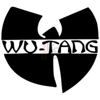 Wu Tang Music Rock Band Decal Sticker