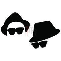 Blues Brothers Music Rock Band Decal Sticker Style 3