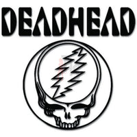 Deadhead Music Rock Band Decal Sticker