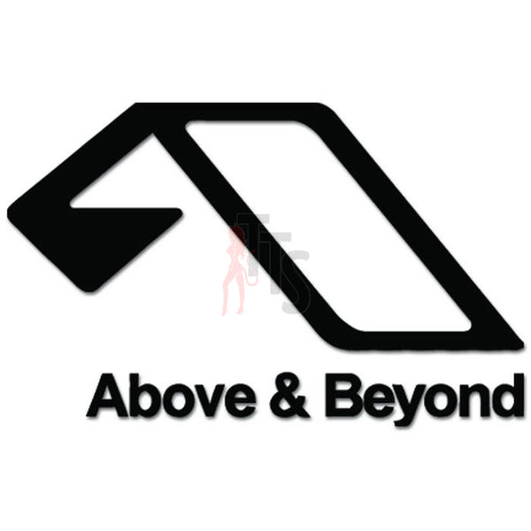 Above and Beyond Vinyl Decal Sticker