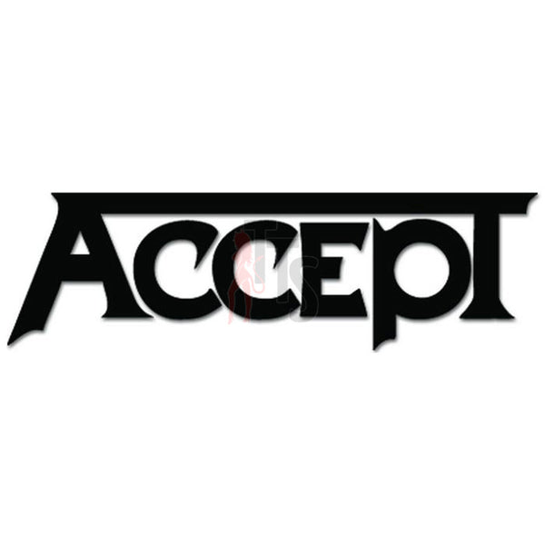 Accept Music Rock Band Decal Sticker