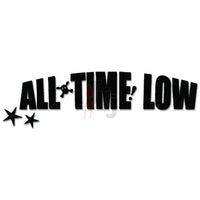 All Time Low Music Rock Band Decal Sticker