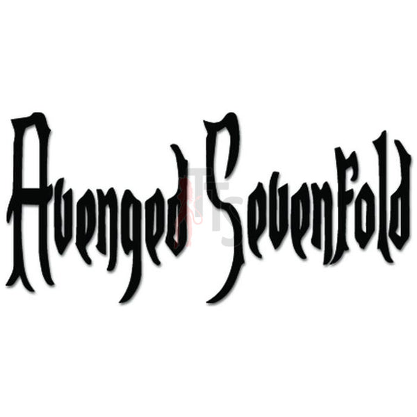 Avenged Sevenfold Music Rock Band Decal Sticker