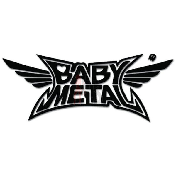Babymetal Kawaii Music Rock Band Decal Sticker