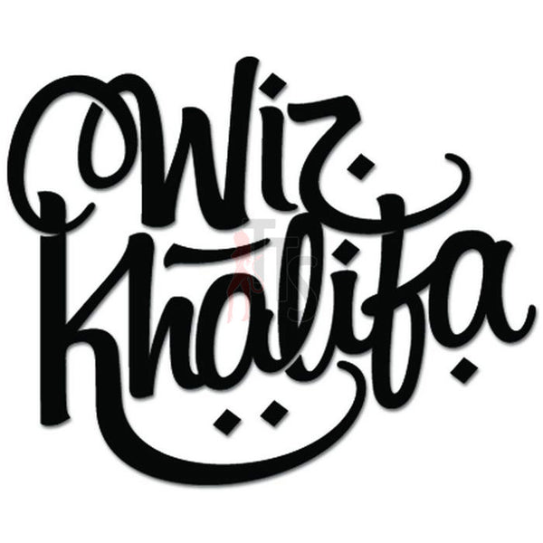 Wiz Khalifa Music Rock Band Decal Sticker Style 1