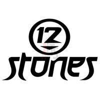 12 Stones Music Rock Band Decal Sticker