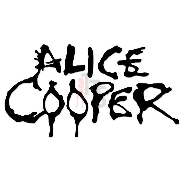 Alice Cooper Music Rock Band Decal Sticker