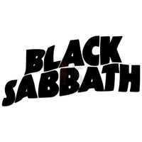 Black Sabbath Music Rock Band Decal Sticker Style 1