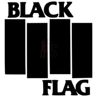 Black Flag Music Rock Band Decal Sticker