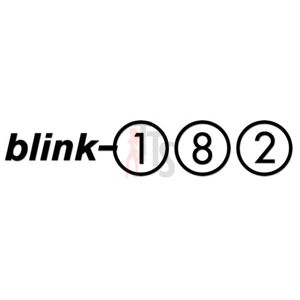Blink 182 Music Rock Band Decal Sticker Style 1