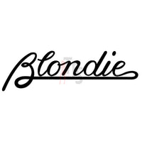 Blondie Music Rock Band Decal Sticker Style 1
