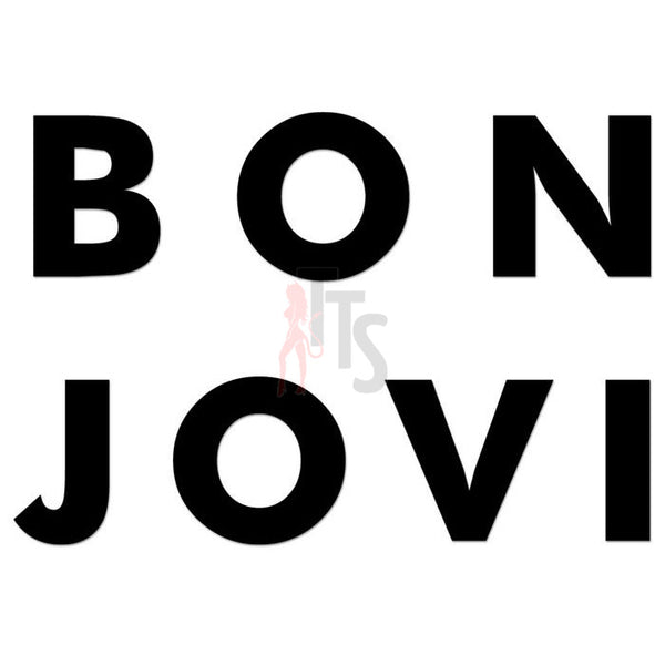 Bon Jovi Music Rock Band Decal Sticker Style 1