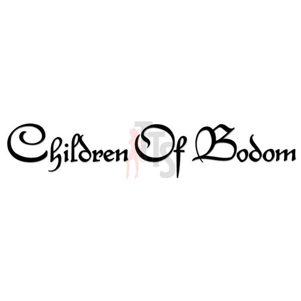 Children Of Bodom Music Rock Band Decal Sticker