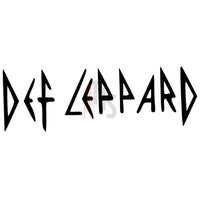 Def Lepard Music Rock Band Decal Sticker