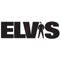 Elvis Presley Music Rock Band Decal Sticker Style 3