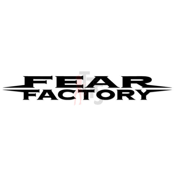 Fear Factory Music Rock Band Decal Sticker Style 1