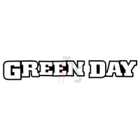 Green Day Music Rock Band Decal Sticker Style 2