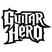 Guitar Hero Music Rock Band Decal Sticker