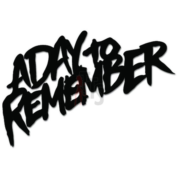 A Day To Remember Music Rock Band Decal Sticker