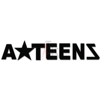 A Teens Music Rock Band Decal Sticker