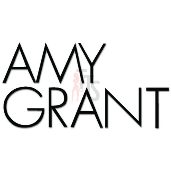 Amy Grant Music Rock Band Decal Sticker