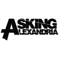 Asking Alexandria Music Rock Band Decal Sticker Style 1