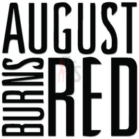 August Burns Red Music Rock Band Decal Sticker