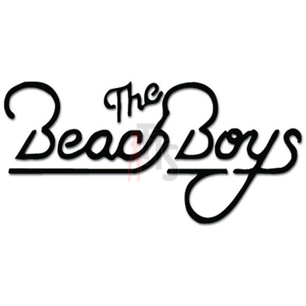 The Beach Boys Music Rock Band Decal Sticker