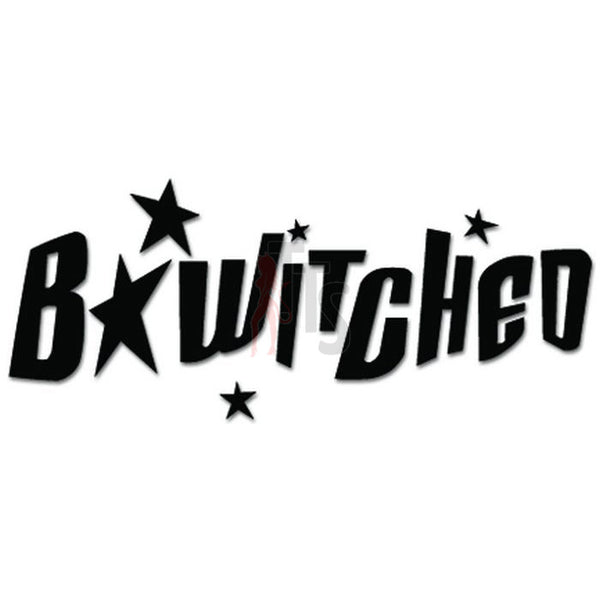 Bewitched Music Rock Band Decal Sticker