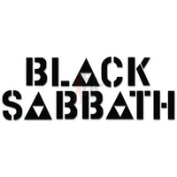 Black Sabbath Music Rock Band Decal Sticker Style 2